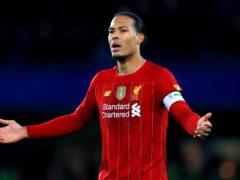 Virgil Van Dijk is staying at Liverpool (Mike Egerton/PA)