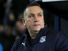 Micky Mellon was reluctant to criticise his players (Richard Sellers/PA)