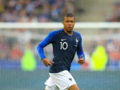 Kylian Mbappe is a target for Real Madrid (Adam Davy/PA)