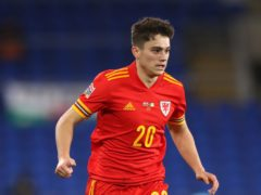 Daniel James is set to rejoin the Wales squad after completing his expected move from Manchester United to Leeds (Nick Potts/PA)