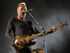 Sting responded with a letter offering his 'sincere and unequivocal apologies' (Yui Mok/PA)