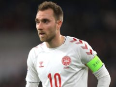 Christian Eriksen has been able to visit club Inter Milan as he continues his recovery from heart surgery (Mike Egerton/PA)
