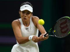 Emma Raducanu beat Belgian top seed Alison van Uytvanck at the Chicago 125 tournament (Adam Davy/PA Images).