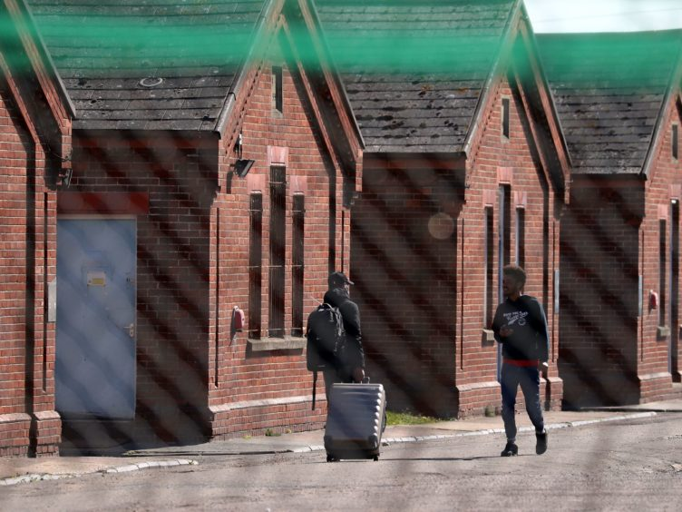 Cases of Covid-19 have once again been identified at Napier Barracks in Kent, months after a major outbreak at the site (Gareth Fuller/PA)