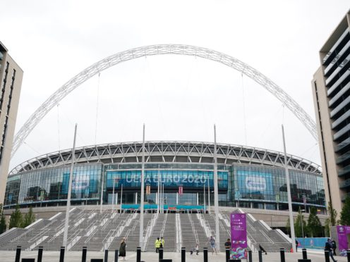 The FA has linked up with the Alzheimer's Society (Zac Goodwin/PA)