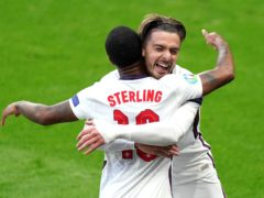 Raheem Sterling is looking forward to linking up with England team-mate Jack Grealish at Manchester City (Mike Egerton/PA)