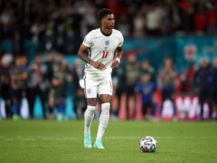 Marcus Rashford was a victim of racial abuse after missing a penalty against Italy (Nick Potts/PA)