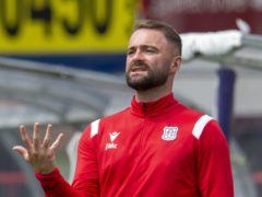 Dundee manager James McPake (Ian Rutherford/PA)