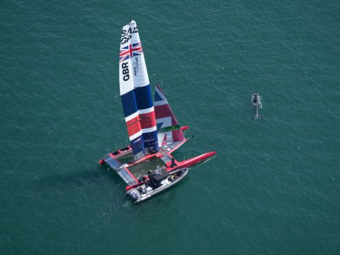 Team GB will have to wait to claim medals in the sailing (Thomas Lovelock/SailGP/PA)