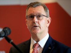 DUP leader Sir Jeffrey Donaldson said he would be seeking information about the fate of Northern Ireland people in Afghanistan (Peter Morrison/PA)