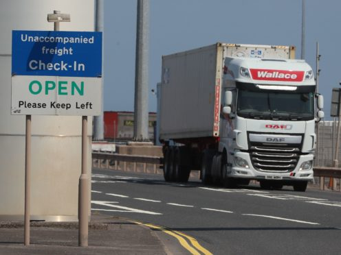 The Northern Ireland Protocol has led to problems with trade for the country with the rest of the UK (Brian Lawless/PA)