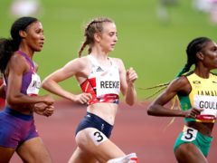 Great Britain's Jemma Reekie reached the women's 800m final. (Mike Egerton/PA)