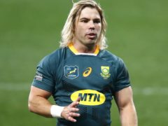 Faf De Klerk is one of two South Africa players who will miss the series decider against the British and Irish Lions through injury (Steve Haag/PA)