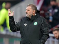 Celtic manager Ange Postecoglou (Jane Barlow/PA)