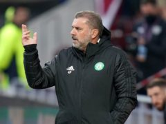 Celtic manager Ange Postecoglou is set to face Rangers for the first time (Jane Barlow/PA)
