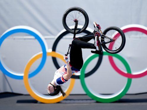 Charlotte Worthington took gold (Mike Egerton/PA)