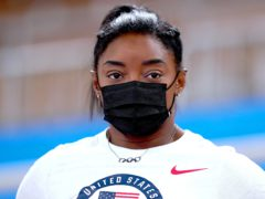 Simone Biles will return to the Tokyo Olympics on Tuesday (Mike Egerton/PA)