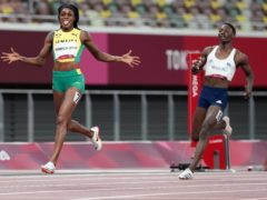 Elaine Thompson-Herah won the 200m on Tuesday. (Martin Rickett/PA)