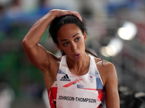 Great Britain's Katarina Johnson-Thompson saw her Olympic dream shattered by injury (Joe Giddens/PA)