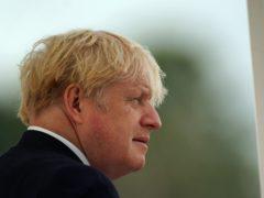 Boris Johnson (Steve Parsons/PA)