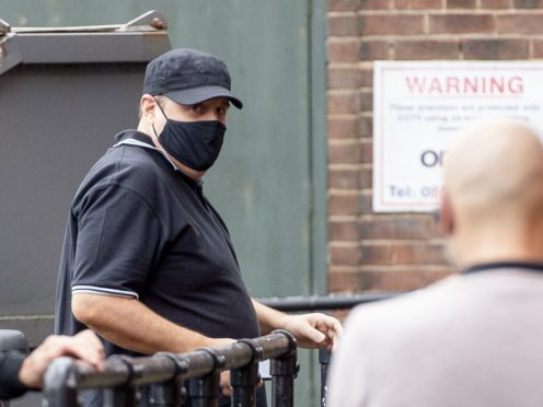 Peter Kay arrives at the O2 Apollo in Manchester (Peter Powell/PA)