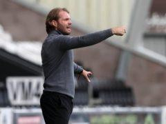 Hearts manager Robbie Neilson saw his side win at St Mirren (Jeff Holmes/PA)