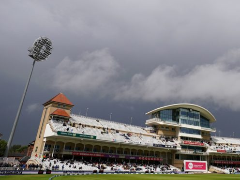 Umpires called off the first Test at 3.49pm after a pitch inspection (Tim Goode/PA)