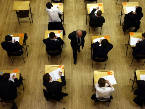 Suggestions to overhaul the education system include scrapping some exams (David Jones/PA)