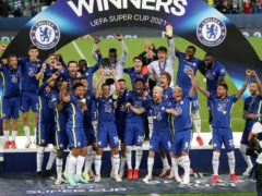 Chelsea won the Super Cup (Niall Carson/PA)