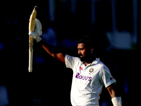 KL Rahul scored a century as India dominated against England (Zac Goodwin/PA)