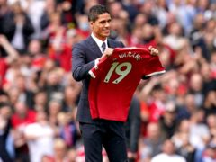 Raphael Varane has completed his move to Manchester United (Martin Rickett/PA).