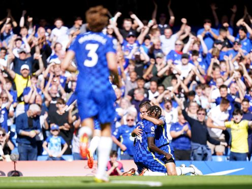Trevoh Chalobah fired a stunning goal as Chelsea brushed aside Crystal Palace (Tess Derry/PA)