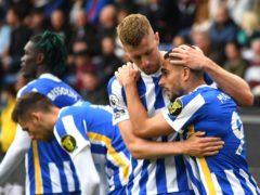 Brighton won at Burnley (Anthony Devlin/PA)