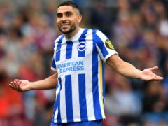 Brighton are hopeful injured striker Neal Maupay will be back in action next weekend (Anthony Devlin/PA)