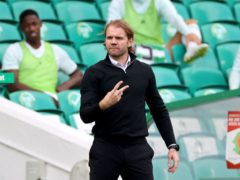 Robbie Neilson is focusing on the clash with Hibs (Steve Welsh/PA)