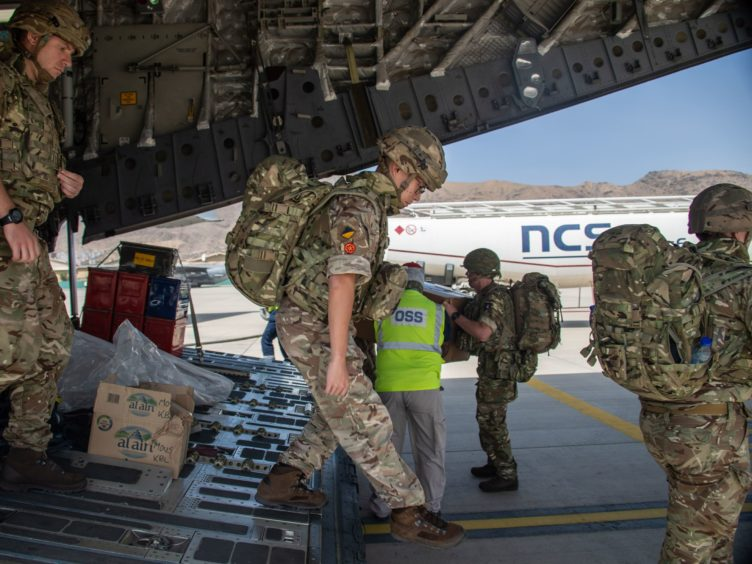 16 Air Assault Brigade arriving in Kabul (Leading Hand Ben Shread/MoD/Crown Copyright/PA)