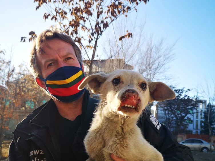 Pen Farthing, founder of animal rescue charity Nowzad, who has pleaded with the British government to withdraw his staff from Kabul (Handout/PA)