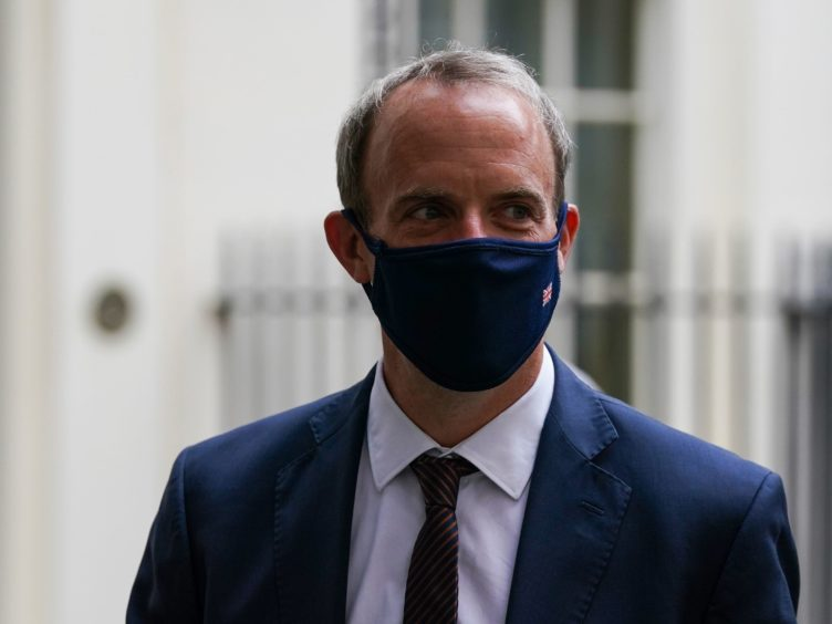 Foreign Secretary Dominic Raab is facing calls to resign (PA)