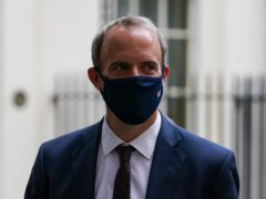 Dominic Raab is facing mounting pressure to resign over his handling of the Afghanistan crisis as Labour warned there had been an 'unforgivable failure of leadership' by the Government (Kirsty O'Connor/PA)