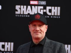 Marvel Studios president Kevin Feige said its films are supposed to be seen on the big screen (Jordan Strauss/Invision/AP)
