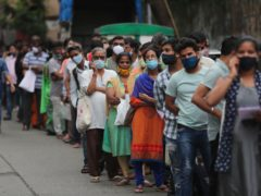 India, which is insurance and financial service company CPP's biggest market, was hit especially hard by the Delta variant in the spring (Rafiq Maqbool/AP)