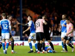 Tempers flared during the Sky Bet Championship match between Peterborough and Cardiff (Joe Giddens/PA)