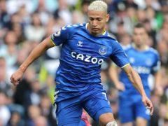 Rafael Benitez says Everton are not considering selling Richarlison (Richard Sellers/PA)