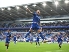 Aden Flint scored twice for Cardiff (Simon Galloway/PA)