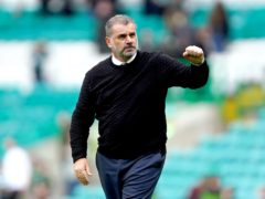 Celtic manager Ange Postecoglou is looking for more evidence of progress (Andrew Milligan/PA)