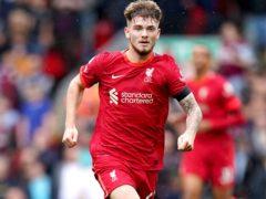 Liverpool's Harvey Elliott impressed on his first Premier League start against Burnley (Mike Egerton/PA Images).