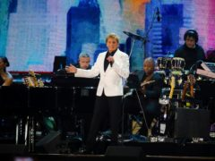 Barry Manilow performs at We Love NYC: The Homecoming Concert in Central Park (Andy Kropa/Invision/AP)