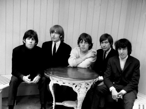 The Rolling Stones in 1964 (PA)