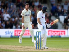 India were bowled out for 78 (Nigel French/PA)