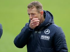 Gary Rowett suffered during Millwall's performance on Saturday (Richard Sellers/PA)